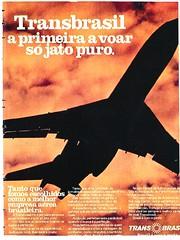Transbrasil na era do jato puro 727 (21) (Portifólio da Aviação) Tags: xingu embraer vulcan avro volvo a300