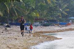 Morning Jog (Voyage Photography) Tags: people man peoplephotography running jogging exercise manjogging manrunning guy male exercising morningjog morningrun daily sand beach sandybeach sandy outdoor outside seaside beachside morning water sea waterside canoneos canoneos70d canonphotography eos70d eos 70d canondslr canonpeople