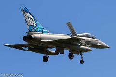 EF-2000, MM7322/36-40, Italië (Alfred Koning) Tags: ef2000 ef2000typhoon epkspoznańkrzesiny exerciseoefening italië locatie mm73223640 tigermeet2018 vliegtuigen
