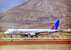 AIR 2000 B757 G-OOOJ (Adrian.Kissane) Tags: 24290 goooj b757 lanzarote air2000