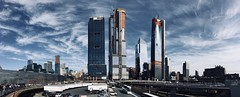 Quicksilver (Barulio_Slim) Tags: highline newyork newyorkcity hudsonyards iphone panorama architecture skyline nyc