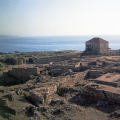 Byblos (Andy961) Tags: lebanon byblos jibail antiquity excavations ruins landscape kodacolor 127