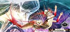 irresISIStible @ SWANK'S MONOCHROMATIC (Tryska1104 (Tryska Moon)) Tags: swank event fantasy mermaid undersea irrisistible shop june sl secondlife second life mesh tail creature sea headpiece jewel scale fish magical