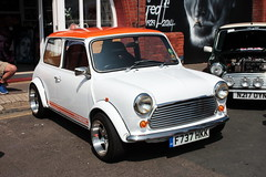 1989 Austin Mini F737HKK London to Brighton Mini Run 2018 (davidseall) Tags: 1989 austin mini old shape classic original f737hkk f737 hkk lon brighton run l2b 2018 madeira drive sportspack trim