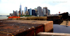 View of NYC Skyline from Governors Island (gilmavargas) Tags: skyline city water sky building river citylife peacefullife nyc