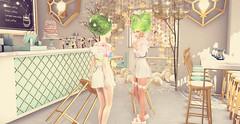 Sweet coffee opening (ecerinei) Tags: {demicorn} supernatural besom ts moonelixir imaginarium whimsical avenue anlarposes nomi secondspaces dustbunny {whatnext} hive applefall uber flf vespertine vw arcade catwa tamagosenbei