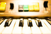 Keys 1 (jeremy_d_smith) Tags: fuji fujifilm fujix fujinon fujixt1 xf35 xt1 bokeh upclose rocks taiwan kaohsiung khh piano keys color