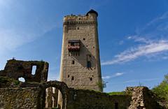 Burg Olbrück Eifel (Foto Dirk Schermuly) Tags: nikon deutschland eifel cstle burg burgolbrück outdoors drausen castle chateaufort elcastillo larocca natur