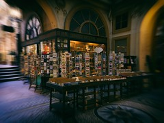 Bookshop in Paris (Jim Nix / Nomadic Pursuits) Tags: jimnix nomadicpursuits travel europe france paris cityoflight bookstore bookshop analogefexpro niksoftware dxo