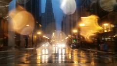 From the Night (michael.veltman) Tags: from a cab in the rain chicago illinois