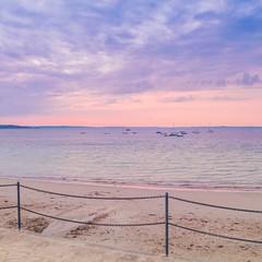 Eté Indien (alize_28) Tags: beach ocean sea sky leverdesoleil sunrise paysage landscape nature nikon bateaux boats trezhir finistère bretagne france