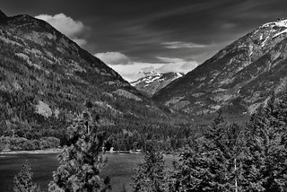More Postcards from Stehekin (Black & White, North Cascades National Park Service Complex)