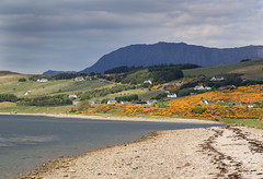 Ben More Coigach (maureen bracewell) Tags: scotland ullapool sea spring benmorecoigach lochbroom highlandsofscotland uk shoreline landscape mountain nature maureenbracewell cannon sky clouds fantasticnature callingallangels