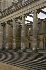 Witley Court 7/13 (Josieroo13 (Bear with me whilst I play catch up)) Tags: grandentrances columns stairs uk england statelyhome manorhouse anenglishmanshome architecture englishheritage ruins worcestershire witleycourt