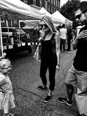 Proud (Michael Beresin) Tags: farmersmarket portsmouth michaelberesin shotoniphone iphone iphoneography people blackandwhite streetphotography