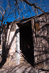 front door (Tomás Harrison Fotos) Tags: ghosttown d750 ngc torrancecounty color encino abandoned nikon ushwy285 afnikkor24mmf28d availablelight nm dying usa