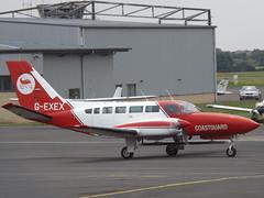 G-EXEX Cessna Titan 404 RVL Ltd (Aircaft @ Gloucestershire Airport By James) Tags: gloucestershire airport gexex cessna titan 404 rvl ltd egbj james lloyds