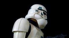 Horizon Storm Trooper model (ModelsbyChris) Tags: starwars model build screamin kaiyodo empire hansolo stormtrooper leia obiwankenobi darthvader originaltrilogy
