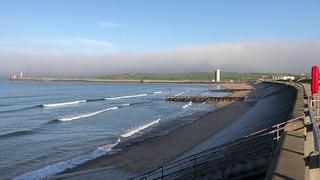 Wind Farm Vanishes - Aberdeen Scotland 24/5/2018