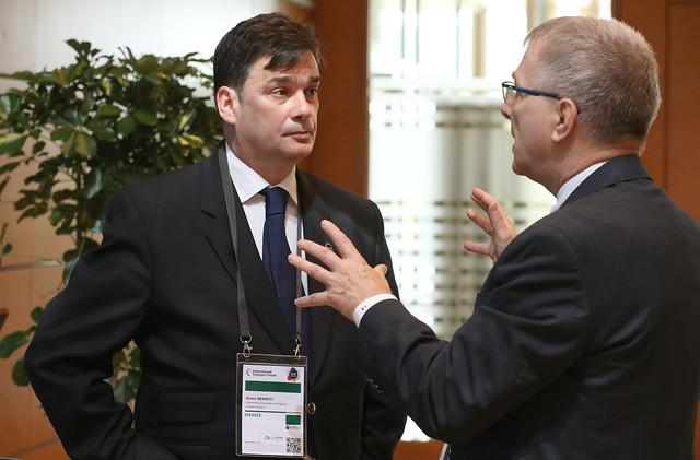 Simon Bennett and Lars Kjaer