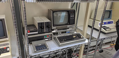 VCF East 2018 (Dave Shevett) Tags: retrocomputing newjersey vcf trs80 2018 old may wall retro vintage antique computers vcfeast nj