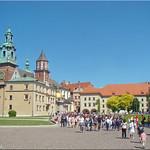Krakau/Polen - Wawel Innenhof (courtyart of the Wawel) thumbnail
