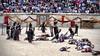 La mort passe sur le champ de bataille (thierrybalint) Tags: jeux romains spartacus nîmes arènes amphithéâtre amphitheater jeuxromains games figurants reconstitutionhistorique histoire gladiateurs centurions champdebataille battle personnes stade mort