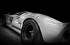 GT40 (Dave GRR) Tags: toronto auto show 2018 ford gt40 retro vintage classic sports super fast speed racing motorsport monochrome mono bw olympus