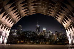 City through the Arch (yarnim) Tags: chicago architecture city cityscape landscape skyline sony sonya7 a7iii a7m3 55mm sel55f18z composition arch building carlzeiss zeiss park lincolnpark illinois nightscape nightsky longexposure