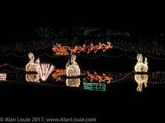 20031220 Bellingrath Xmas 0020 Swans.jpg (Alan Louie - www.alanlouie.com) Tags: bellingrath christmas alabama theodore unitedstates us ussoutheast