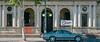 Bendigo 012 (Peter.Bartlett) Tags: vsco victoria window australia facade doorway door peterbartlett wall urban urbanarte tree microfourthirds m43 car lunaphoto architecture city sign olympuspenf kodakportra160emulation fence bendigo au