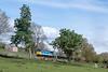 47715 approaching Redmire (ThanksDrBeeching) Tags: train railway pociąg kolej zug bahn eisenbahn 47715 class47 wensleydale redmire wensleydalerailway haymarket