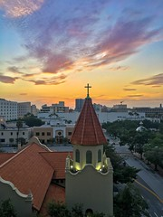 Sunrise over St. Andrews Episcopal Church in Downtown Tampa, FL (subrec) Tags: sky church skyporn 2018 june standrewsepiscopalchurch downtown florida tampa sunrise iphone