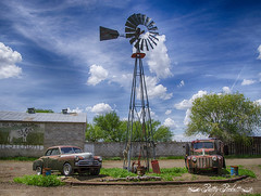 (Pattys-photos) Tags: old ford truck dodge car windmill idaho pattypickett4748gmailcom pattypickett