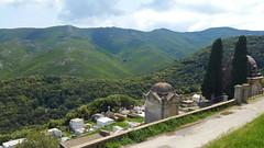 292 - Cap Corse, Rogliano, le cimetière en contrebas de l'église San Martinu (paspog) Tags: rogliano corse capcorse france mai may 2018 cemetery cimetière graveyard friedhof