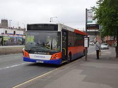 Centrebus 661 Nottingham (Guy Arab UF) Tags: centrebus 661 yj60gfo vdl sb180 mcv evolution bus crown court terminus canal street nottingham buses