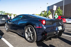 Long Time No See (Hunter J. G. Frim Photography) Tags: supercar colorado ferrari italian coupe v8 458 speciale carbon na ferrari458 ferrari458speciale blu blue pozzi blupozzi