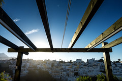 Pergola (the underlord) Tags: pergola nerja spain espana awning sunrise