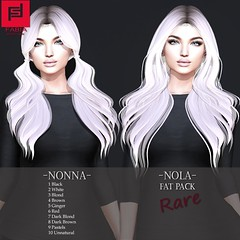 -FABIA- Gacha   _Nonna_Nola_ (FABIA.HAIR) Tags: chapter four hair rigged moda woman beauty look piktures fabia nice meef head special second sl secondlife sweet event fashion hairstyle life lovely avatar spam style shopping new release best love everyday art
