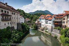 Capuchin Bridge (www.chriskench.photography) Tags: skofjaloka xt2 slovenia travel kenchie europe 18135 architecture history ifeelslovenia