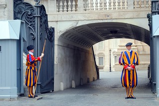 Guarding the Vatican