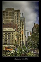 Empire State Building - NYC (vonhoheneck) Tags: manhattan broadway timesquare 5thavenue uptown schoelkopf schölkopf canon eos6d usa nyc newyork taxi wolkenkratzer skyscraper flatironbuilding