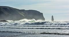 Legendary (cliveg004) Tags: sandwoodbay ambuchaille coast northwestscotland sutherland scotland legendary beach sea atlantic seastack cliffs rubhabhuachaille rollers whitehorses sunshine waves nikon d5200
