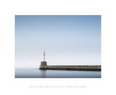 Cool Blue.. (LoneWolfA7ii) Tags: aberdeen art blue coast harbour sky uk longexposure light lighthouse outdoor scotland sea seascape shore sonya7ii breakwater tide visitscotland water white