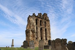 The Priory, Tynemouth, Tyne & Wear (alisonhalliday) Tags: ruins ancient building priory sky tynemouth coast tynewear canoneos77d canonefs18135mm