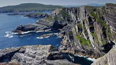 Kerry Cliffs Portmagee (Raúl Alejandro Rodríguez) Tags: acantilados cliffs costa shore coast mar sea rocas rocks condado de kerry county irlanda ireland