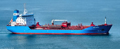 Scotland river Clyde a chemical tanker called Bro Nakskov 8 May 2018 by Anne MacKay (Anne MacKay images of interest & wonder) Tags: scotland river clyde chemical tanker bro nakskov sea ship cargo xs1 8 may 2018 picture by anne mackay