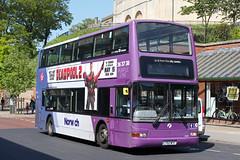 Volvo B7TL Plaxton President (DennisDartSLF) Tags: norwich bus volvo b7tl plaxton president 32201 first norwichnetwork purpleline lt52wtf