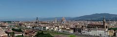 Florence Panorama (jp1422) Tags: landscape panorama florence jp1422 italy arno river duomo santacrose