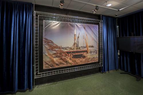 Подготовка к запуску ракеты (Байконур)